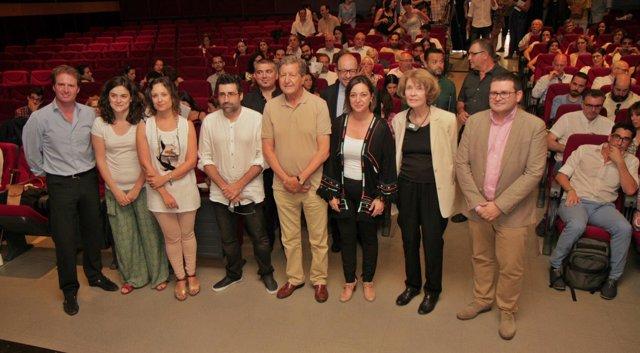 Inauguración de la conferencia de apertura del III Foro Andalucía Solidaria