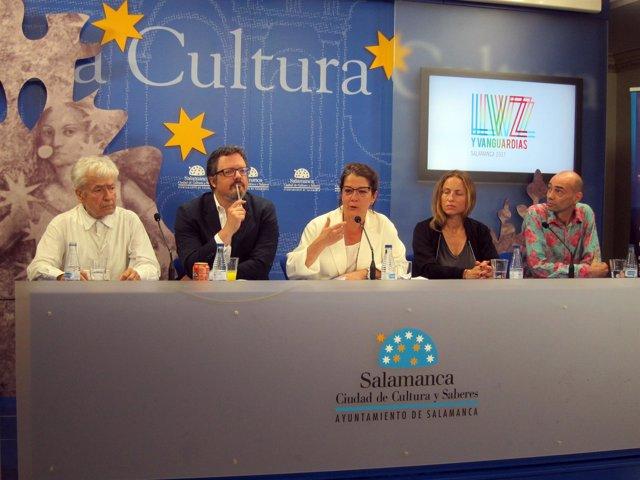 Presentación del Festival de Luz y Vanguardias.