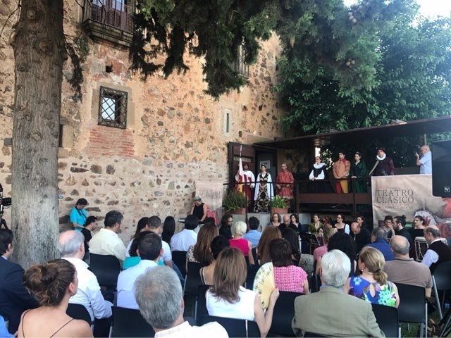 Inauguración del Festival de Teatro Clásico de Cáceres