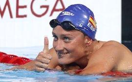 Mireia Belmonte logra dos oros y Jessica Vall firma un bronce en la jornada final del 'Ciutat de Barcelona'