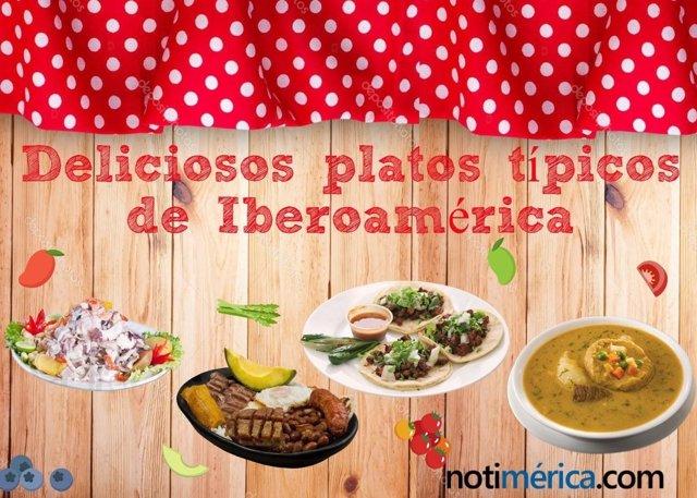 Platos típicos de Iberoamérica