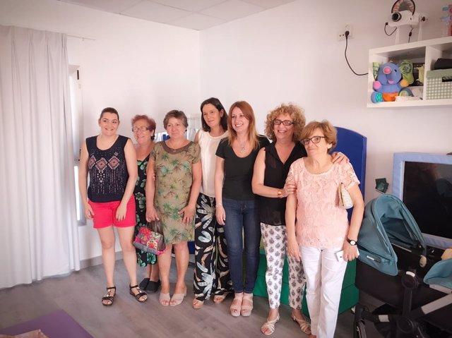 Reunión de Diputación con Asiquipu