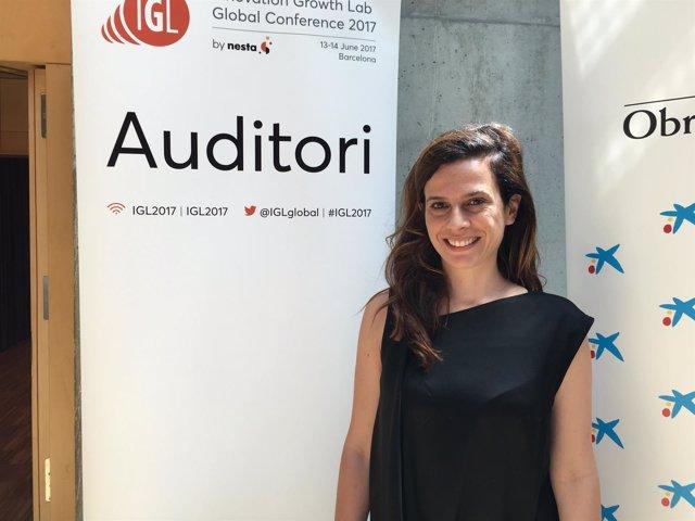 La comisionada de Tecnología e Innovación de Barcelona, Francesca Bria,