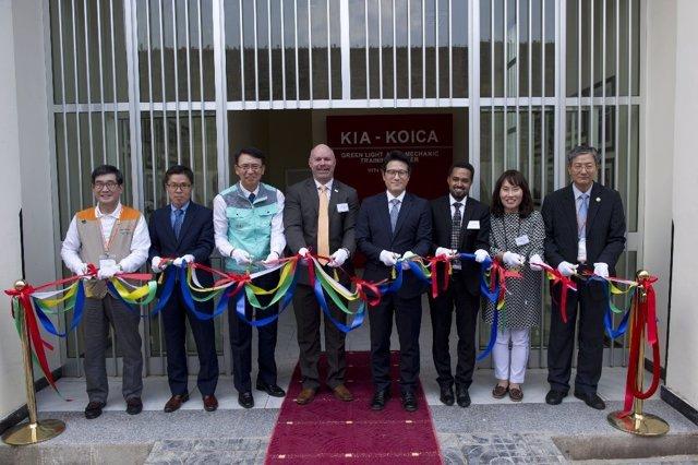 Nuevo centro de formación de Kia en Etiopía