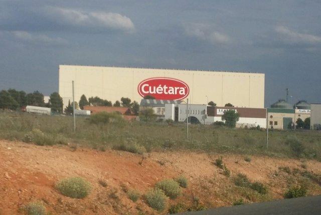 Empresa Cuétara, en Villarejo de Salvanés