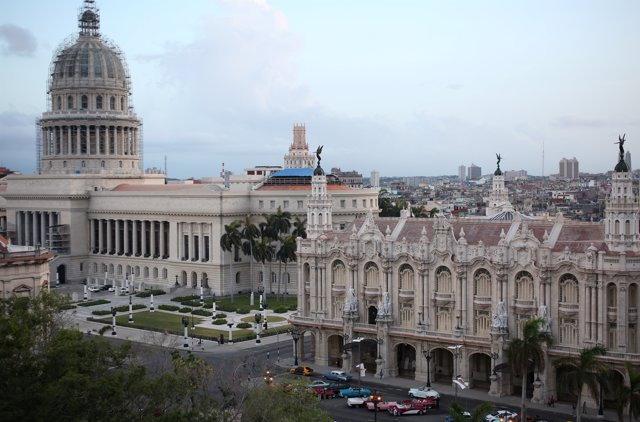 The National Capitol Building and the Gran Teatro de la Habana Alicia Alonso on