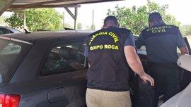 Tres detenidos por una decena de robos perpertrados en oficinas de la comarca Llanos de Olivenza