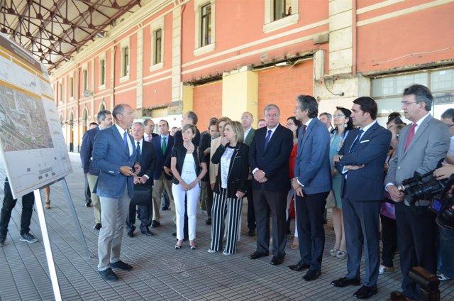 León: el ministro presenta el plan ferroviario