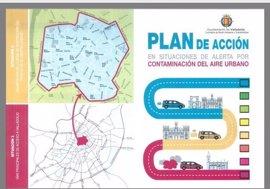 El centro de Valladolid se cierra al tráfico al menos hasta el lunes por contaminación