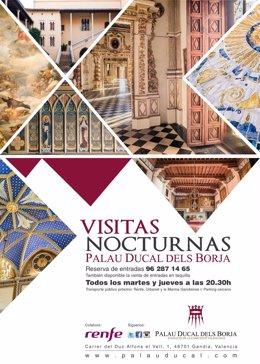 Visitas Nocturnas Palau Ducal dels Borja