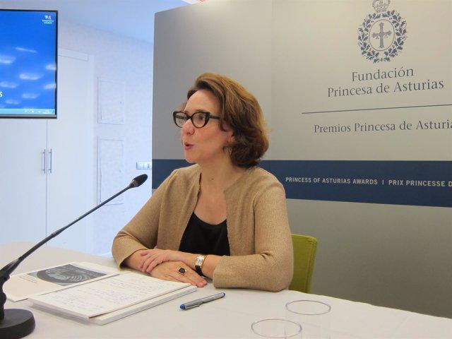La directora de la Fundación Princesa de Asturias, Teresa Sanjurjo