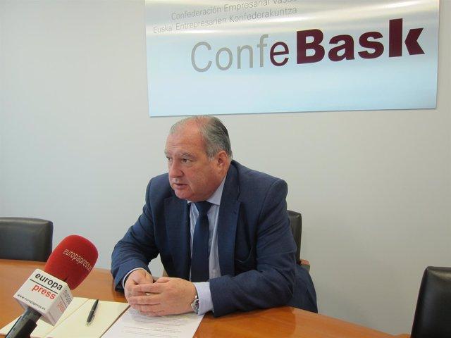 Roberto Larrañaga Confebask