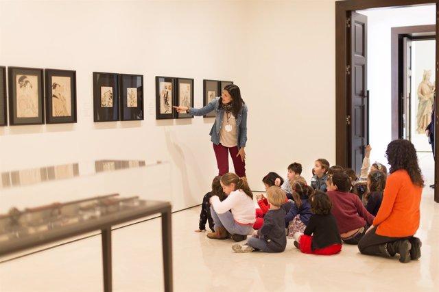 Actividades de educación en el Museo Thyssen