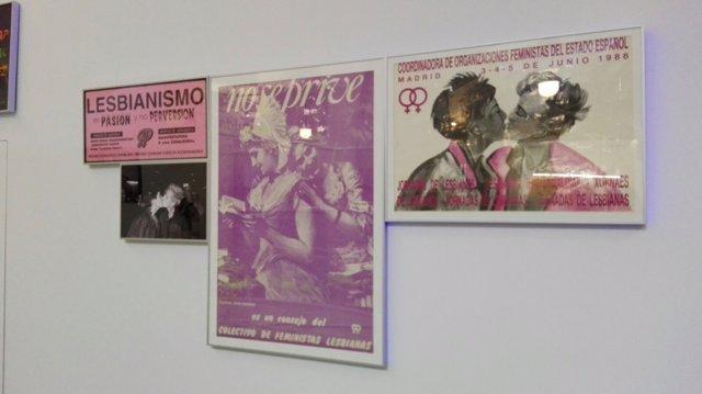 Exposición sobre el movimiento LGTBi