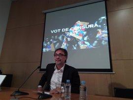Benedito prevé la moción de censura para el primer partido de LaLiga en el Camp Nou