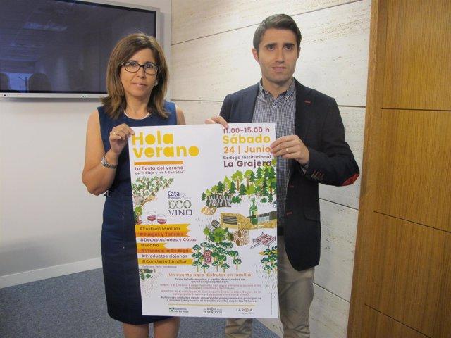 Presentación actividades de La Rioja Capital
