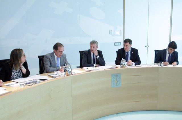 Reunión del Consello de la Xunta del 15 de junio de 2017