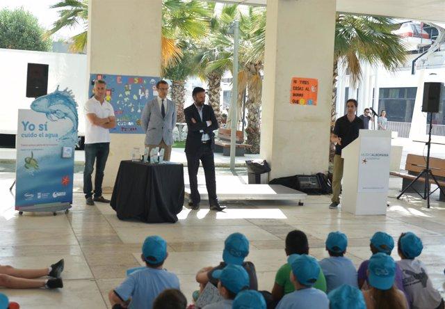 Campaña Emasa. Niños. Raúl Jiménez. Ayntamiento Málaga