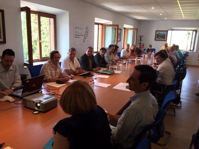 Reunión del II Plan de Desarrollo Sostenible de Cazorla, Segura y Las Villas.
