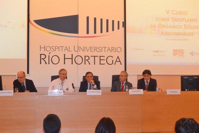 Curso sobre trasplante en el Río Hortega