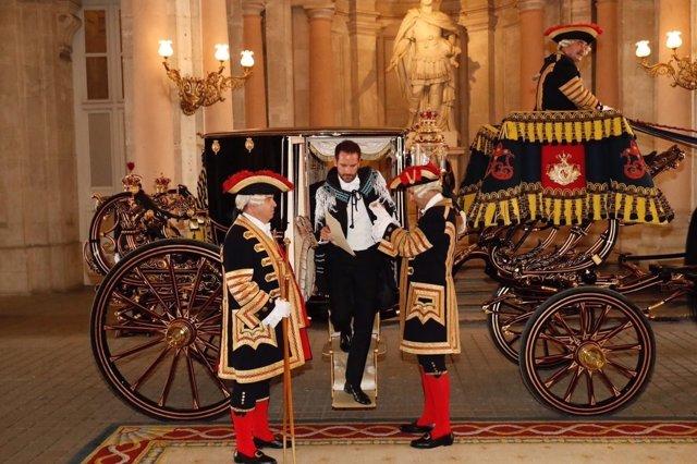 El Rey Felipe VI recibe la presentación de cartas credenciales de embajadores