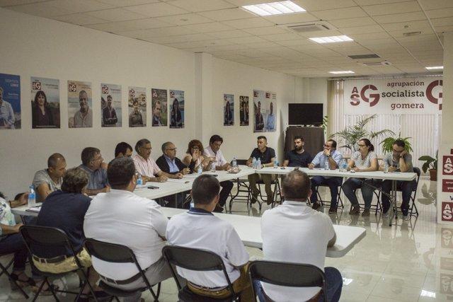 Comité ejecutivo insular de ASG