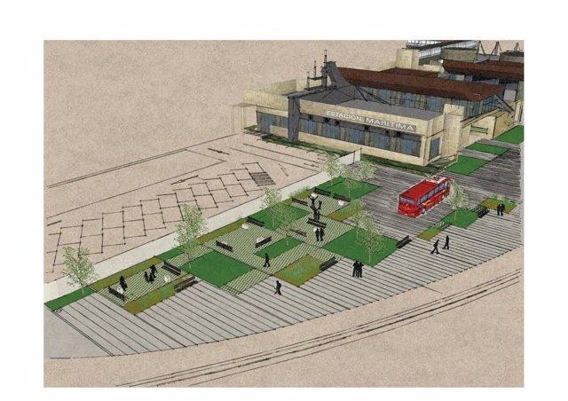 Proyecto mejora estación marítima Santander