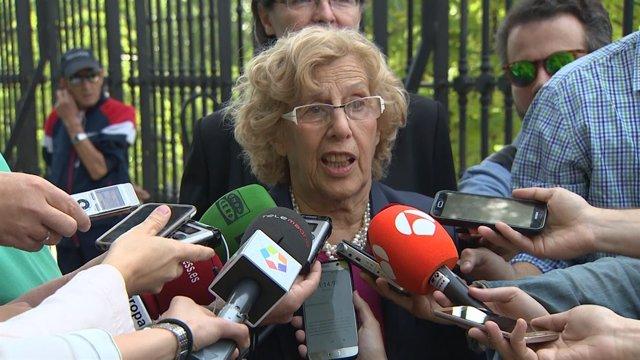 Carmena descarta presentarse a pesar de las encuestas