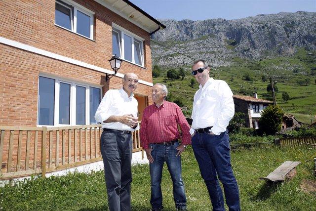 Inauguración de la rehabilitación del albergue de Lafuente