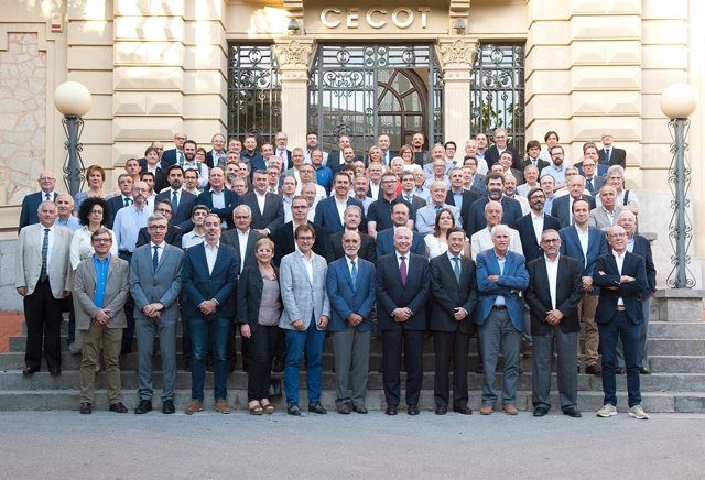 Miembrosde la asamblea electoral de Cecot