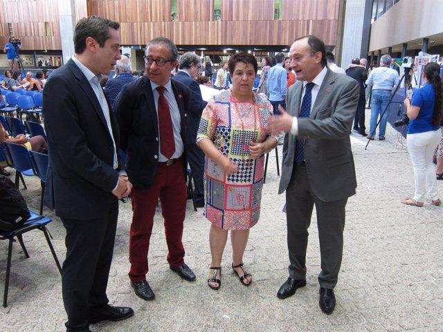 Segovia, Miguel y la alcalde de Segovia