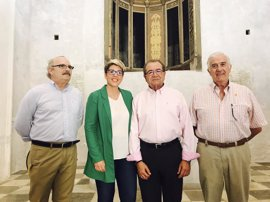 Comienza la restauración de la Capilla del Socorro de la Catedral Antigua de Cartagena