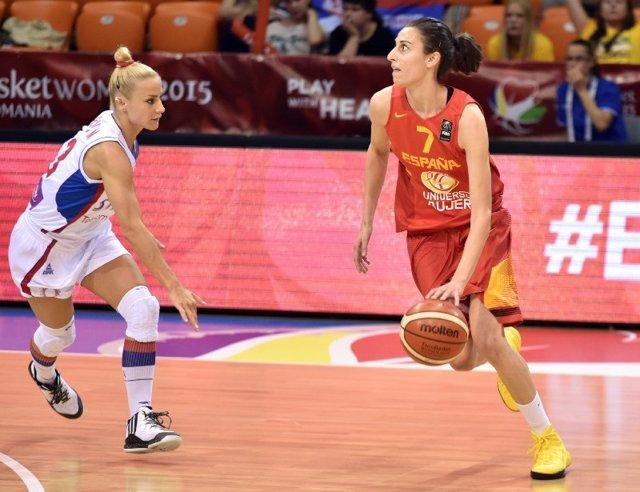 Alba Torrens, Serbia vs España