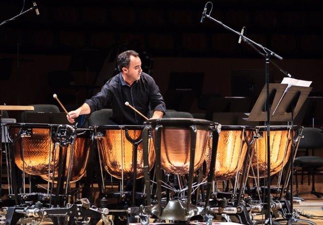 Javier Eguillor en el Palau de la Música de València
