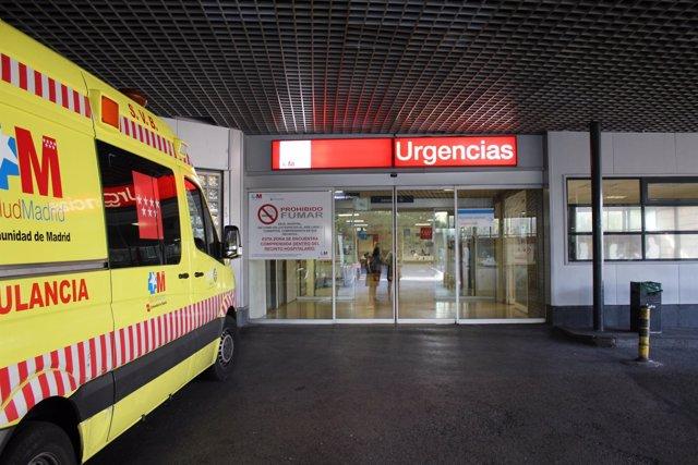 Nuevo acceso único de urgencias de adultos del Hospital de La Paz