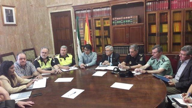 Reunión de coordinación de la OPE 2017 en Almería