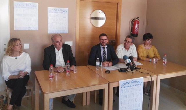 Rueda de prensa Autismo Málaga