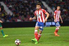 Portu amplía su vinculación con el Girona dos temporadas