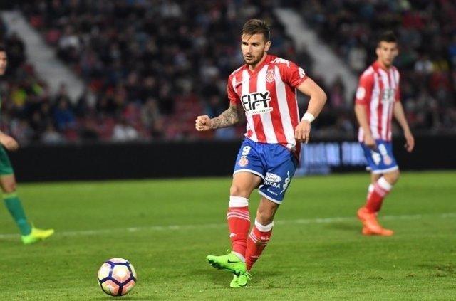 """El centrocampista Cristian Portugués """"Portu"""", del Girona"""