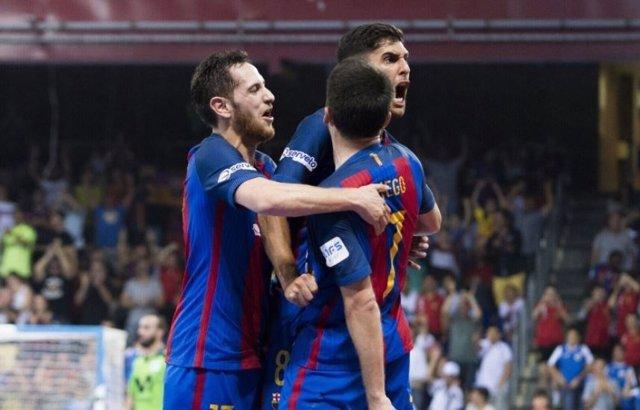 El FC Barcelona Lassa pasa por encima de Inter en la final LNFS
