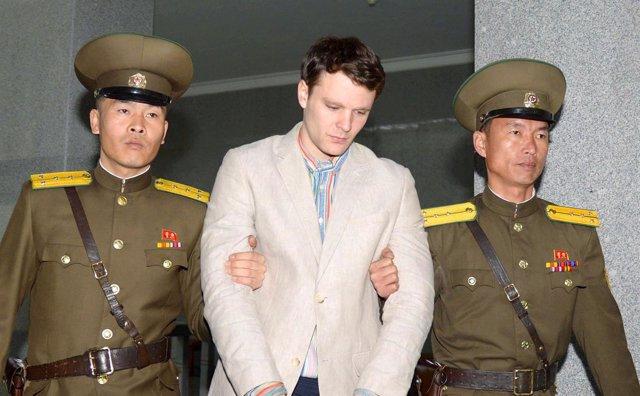 Otto Warmbier, universitario estadounidense detenido en Corea del Norte