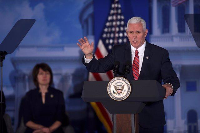 El vicepresidente estadounidense, Mike Pence