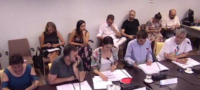Comisión de Transparencia en el Ayuntamiento de Madrid