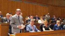 Lambán emplaza a los partidos de izquierdas a negociar los Presupuestos de 2018 a la vuelta del verano