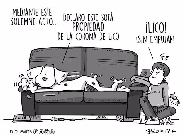 Viñetas publicadas por el ilustrador extremeño Pablo Gómez
