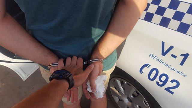Detenido por abusos sexuales a una menor