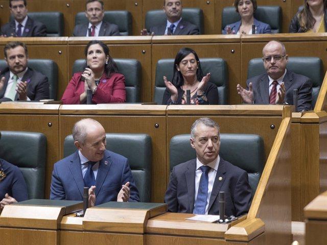 Iñigo Urkullu, reelegido lehendakari