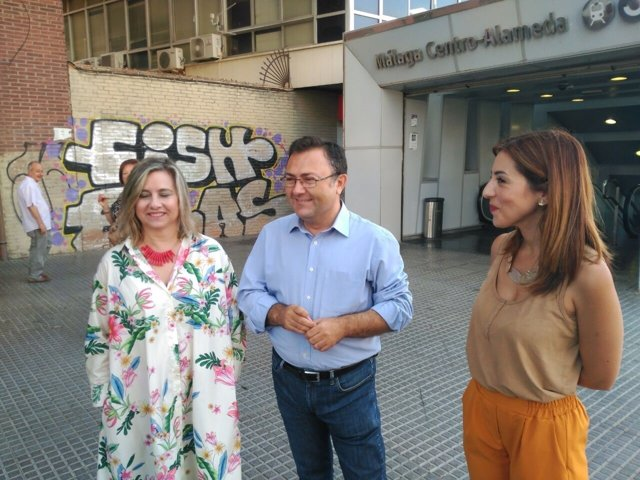 Heredia Tundidor Rubiño PSOE Cercanías Málaga c1 fuengirola
