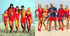 De David Hasselhoff a Dwayne Johnson: Así han cambiado Los Vigilantes de la Playa (Baywatch)
