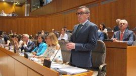 PP no apoyará las modificaciones presupuestarias del Gobierno aragonés si no negocia la rebaja de la carga fiscal